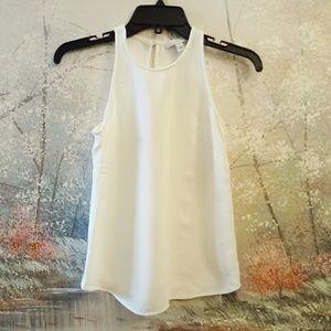 J. Crew halter top off white sleeveless blouse